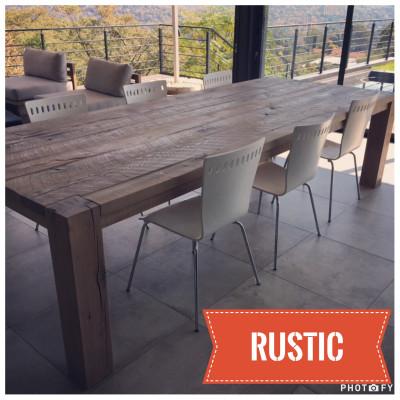 Rustic Oak table - POA
