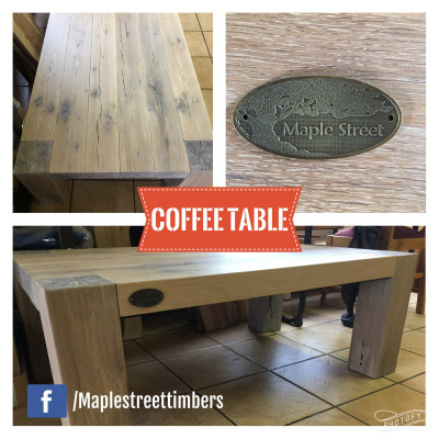 Half Cant Coffee Table - POA